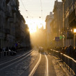 Center of Lviv in New Year's Eve — Stock Photo