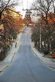 都市景観・道路リボフの降下に行く — ストック写真