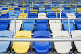 Empty tribunes — Stock Photo