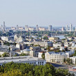 Panorama of Kiev in the summer - Stock Photo
