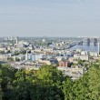 Panorama of Kiev in the summer — Stock Photo