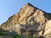 Peaked mountain in Crimea — Stock Photo