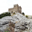 Ruins of Genoese fortress — Stock Photo #22861902
