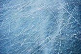 Scratches on the surface of the ice — Stock Photo