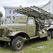 Soviet multiple rocket launcher Katyusha — Stock Photo