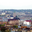 Daytime view of the Lvov city — Stock Photo