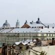 View Lvov city from height — Stock Photo