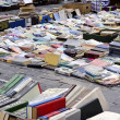 Stock Photo: Book market outdoor