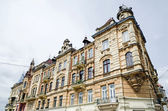 Beautiful old building in Lvov — Stock Photo