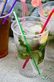 бокал с коктейлем — Стоковое фото