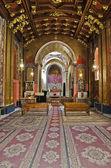 интерьер армянский кафедральный собор — Стоковое фото