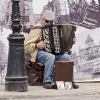Stock Photo: Busker