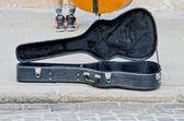 Guitar case — Stock Photo