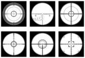 Optical sight — Stock Vector