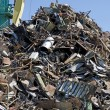 Base of reception of scrap metal — Stock Photo