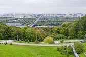 View of the left coast of Kiev — Stock Photo