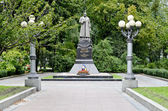 Monument to General Vatutin in Kiev — Stock Photo
