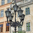 Street light in Lvov — Stock Photo