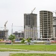 High-rise buildings in Minsk — Stock Photo