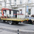 Tow Truck in Lvov — Stock Photo