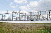 Electric substation — Stock Photo