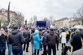 Euromaydan en lvov — Foto de Stock