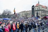 Euromaydan in Lvov — Stock Photo