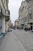 The central street in Lvov — Stock Photo