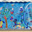 Easter banner in Lvov — Stock Photo #41765677