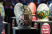 Easter eggs at the festival in Lvov — Foto Stock