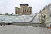 Shopping center Globus on maidan in Kiev — Stock Photo