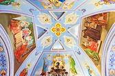 Interior church of St. Catherine in Feodosia — Stock Photo
