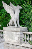 Griffin sculpture in Kerch — Stock Photo