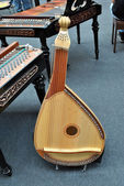 Bandura - a Ukrainian plucked string folk instrument — Stockfoto