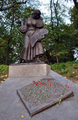 Monument to painters under repression in Kyiv — Stock Photo