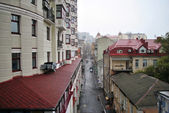 New and old buildings in Kyiv — Stock Photo