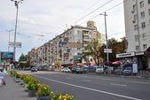 Velyka Vasylkivska street in Kyiv — Stock Photo