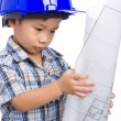 Young boy engineer — Stock Photo #48091719