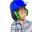 Young boy engineer — Stock Photo #48091789