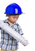 若い男の子エンジニア — ストック写真