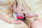 Thai wedding style — Stockfoto