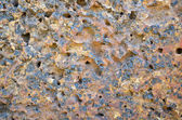 Laterite stone surface — Stock Photo