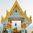 Shrine in the Phra Mahathat Chedi Phakdi Prakat pagoda — Stock Photo
