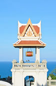 Campanile of thai temple — Stock Photo