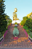 Stairs to Phra Phuttha Kitti Siri Chai buddha statue — Stock Photo