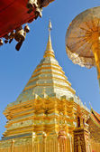Wat Phra That Doi Suthep tourism attractions of Thailand — Stock Photo
