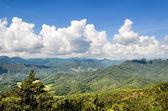 Landscape high mountain range — Stock Photo