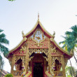 Chapel of Wat Phra That Lampang Luang temple — Stock Photo #39348227