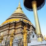 Ancient pagodas at Wat Phra That Lampang Luang temple — Stock Photo #39348381