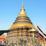 Ancient pagodas at Wat Phra That Lampang Luang temple — Stock Photo #39348631